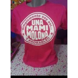Camiseta mami molona